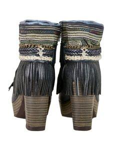 Emonk Ibiza Boho Custom Made High Heel Boots | Shop SWANK