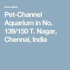 Pet-Channel Aquarium in No. 139/150 T. Nagar, Chennai, India