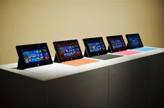 Microsoft Surface... Need to save up my hard earned money to buy my husband this!