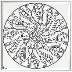 August Mandala 4 Wip by Artwyrd on DeviantArt