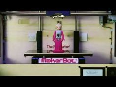 Stop-Motion Music Video Featuring Sets & Characters Created Using a MakerBot Replicator