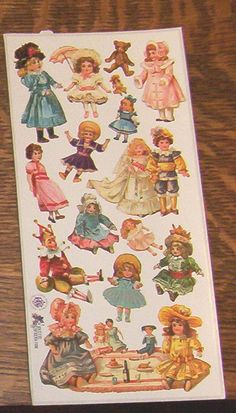 Items similar to Wonderful new Victorian Violette beautiful cute Dolls picnic teddy bear stickers for scrapbooking envelopes card making crafts on Etsy Retro Floral, Scrapbook Stickers, Cute Dolls, Decoupage, Card Making, Teddy Bear, Victorian, Romantic, Handmade Gifts