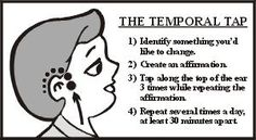 Fast Track Your Affirmations with the Temporal Tap. balancedwomensblog.com