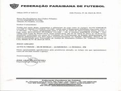 Portal Esporte São José do Sabugi: FPF adiou jogo entre Auto Esporte e Treze que seri...