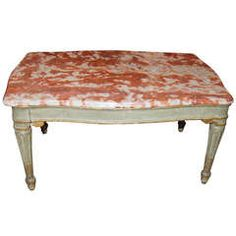 Belle Epoch Painted Coffee Table