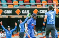 India's top batting order collapse against England which hurt Indian team world cup 2015 preparations. England beat India easily by 9 wickets at the Gabba.
