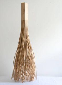 Hongtao Zhou, Lumber Lamp, Ash.