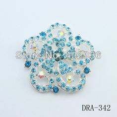 New Design Excellent Delicat Blue Crystal large size scarf pins hijab fashion brooch  $13.80 Hijab Pins, Brooch Pin, Brooches, Jewelry, Design, Fashion, Brooch, Moda, Jewlery