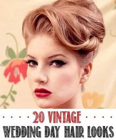 New vintage wedding nails retro style Ideas Best Picture For vintage wedding nails For Your Taste You are looking for something, and it is going to tell you exactly wha Nurse Hairstyles, 1950s Hairstyles, Vintage Hairstyles, Wedding Hairstyles, Fashion Hairstyles, Latest Hairstyles, Quick Work Hairstyles, Vintage Wedding Nails, Pelo Retro