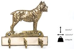 Cane Corso dog hanger for clothes limited by ArtDogshopcenter