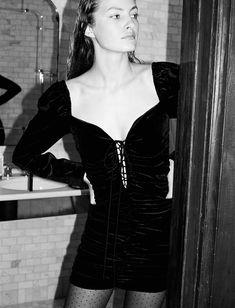 a8c6b9ad -WOMAN-STORIES | ZARA España. Zara Velvet DressBlack ...