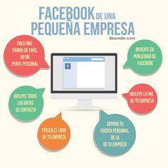 Facebook de una empresa vía: concursosalacarta.com #pyme #socialmedia