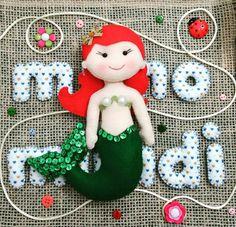 Ariel em feltro
