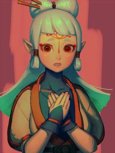 """[Zelda: Breath of the Wild]"""" The Legend Of Zelda, Legend Of Zelda Breath, Breath Of The Wild, Character Art, Character Design, Character Inspiration, Design Inspiration, Princesa Zelda, Game Art"""