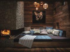 The Linen Lounge Modern Lodge, Branding Design, Lounge, Pillows, Interior Design, Furniture, Frankfurt, Home Decor, Bunt