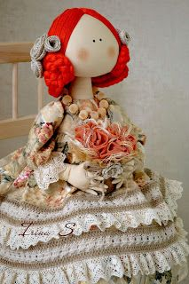 моя авторская куколка )) if you want order to or buy liked doll just contact with me by email: zebra.tlt you can write in English or Russian Irina S. Doll Clothes Patterns, Doll Patterns, Doll Toys, Baby Dolls, Clothespin Dolls, Raggedy Ann, Soft Dolls, Baby Decor, Fabric Dolls