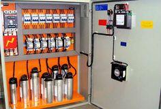 Banco de Capacitores Automático