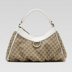 Gucci 189833 FFPAG 9761 D Gold'Large Hobo Gucci Damen Handtaschen
