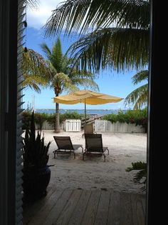 Parrot Key Hotel and Resort: View from the back door of the room