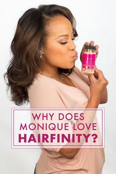 """Happy Hair Stories: Why Monique Stopped Covering Her Hair. Most women have what they believe is a specific point to which their hair will grow. Once this """"plateau"""" is reached many of us have felt hopeless as if we are sentenced to that length of hair forever. http://www.hairfinity.com/us/en/happy-hair-stories-why-monique-stopped-covering-her-hair/"""