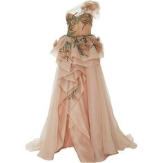 One Shoulder Gown with Organza Flowers One Shoulder Gown with Organza Flowers by MARCHESA for Preorder on Moda Operandi Beige Evening Dresses, Evening Gowns, Formal Dresses, Organza Flowers, Organza Dress, Wedding Dresses With Flowers, Flower Dresses, Off One Shoulder Dress, Marchesa Gowns