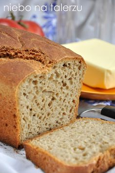 chleb Bread Recipes, Cake Recipes, Cooking Recipes, Drink Recipes, My Favorite Food, Favorite Recipes, Bread Bun, Polish Recipes, Pastry Cake