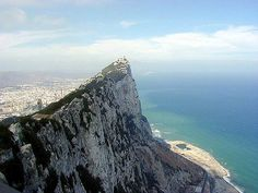 Gibraltar.  I even have a piece of Gibraltar from when my Dad was in WWII and they were drilling out some of the rock and he got a large chunk of it.  True story.