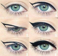 Deliniado de ojos