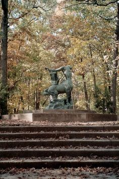 Death of the last Centaur, located at historic Robert Allerton Park, Illinois, USA. Heart Songs, Centaur, Plant Design, Beautiful Space, Senior Pictures, Amazing Art, Illinois, Places To Travel