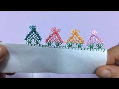 Pramit İğne Oyası Modeli - YouTube Tatting, Elsa, Needlework, Diy And Crafts, Youtube, Embroidery, Crochet, Handmade Crafts, Needle Lace