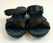 SALE 12% (52.79$) New $140 Women's Dansko Sandals in Black Size EU 38 US 7.5-8
