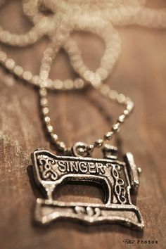 Singer pendant . Sewing machine #whitelilydesign $10