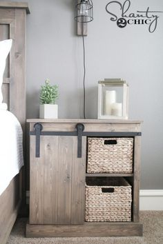 Installing interior barn door hardware can transform the look of your room. Read these steps in buying interior barn door hardware. Rustic Furniture, Bedroom Furniture, Diy Furniture, Mirrored Furniture, Furniture Plans, Luxury Furniture, Garden Furniture, Furniture Design, Diy Sliding Barn Door