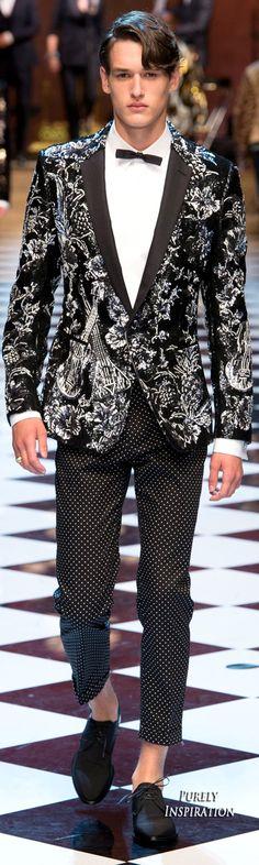 Dolce & Gabbana SS2017 Menswear | Purely Inspiration