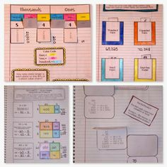 Interactive Math Notebook – 4th Grade - This huge interactive notebook bundle comes complete with pages for introducing each part of standard NBT. It includes pictures for showing how you could set up the pages, vocabulary, helpful hints, examples, and much more. My students use these pages in one way or another every day. I would be lost without them! $