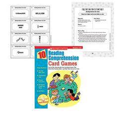 10 Comprehension Card Games