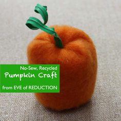No sew pumpkins