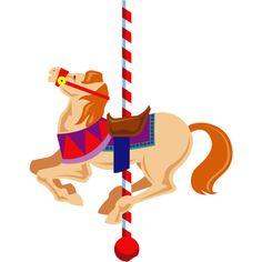 free clip art carousel horse carousel horse clipart image rh pinterest com gold carousel horse clipart carousel horse clip art pictures