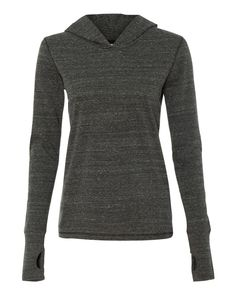 f941a6d99498 W3101 All Sport Ladies Triblend Thumbhole Hooded T-Shirt Sanskrit, Hipster  Shirts, Cool