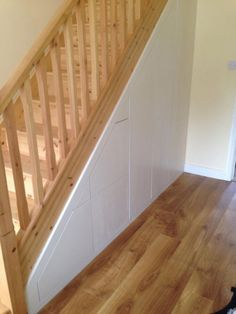 Under Stairs & Attic storage - Ingrained Staircase Storage, Hallway Storage, Attic Storage, Cupboard Storage, Closet Under Stairs, Loft Stairs, House Stairs, Rustic Staircase, Staircase Ideas