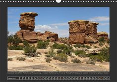 Wanderungen auf dem Colorado-Plateau, Kalenderblatt Januar: Canyonlands - The Needles: Slickrock Trail