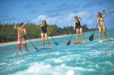 Le stand up paddle à l'île Maurice