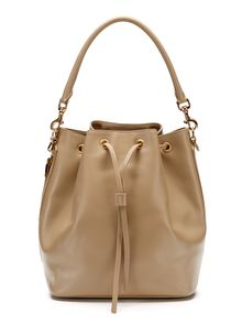 483182950634 Saint Laurent Paris Emmanuelle Leather Bucket Bag from Gilt - Styhunt