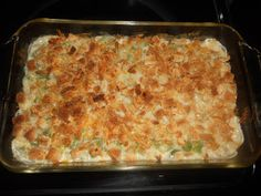 Cheddar Green Bean Casserole-no canned soup in this recipe!