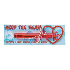 Healthy Heart Bubble Bottles on Card - Less Than Perfect - Discontinued Heart Bubbles, Bubble Bottle, Health Class, Blowing Bubbles, Oriental Trading, Heart Disease, Some Fun, Fundraising, Healthy Heart