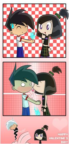 Danny and Sam - Danny Phantom Fan Art (27453996) - Fanpop>this will be my valentine to my friends