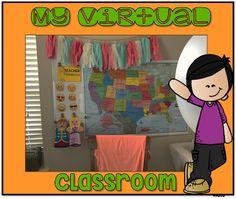 My VIPKID Classroom Set up
