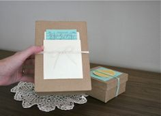 Nice inexpensive gift wrap for book lovers. Site has free download for the library cards. (Papernstitch)