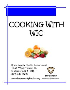 Get recipe ideas for cooking with WIC foods!