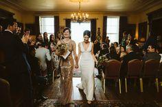 Walcot Hall wedding ceremony